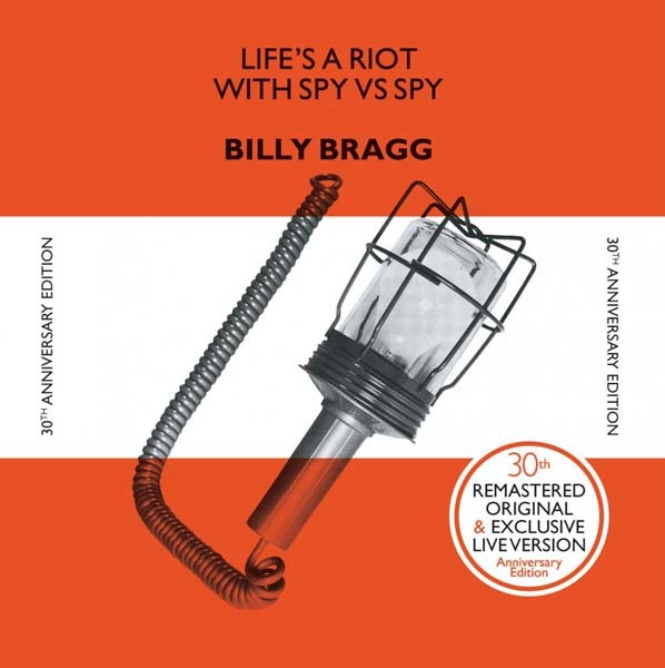 Billy Bragg - Life's A Riot With Spy Vs Spy LP
