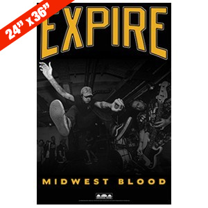 Expire 'Midwest Blood' Poster