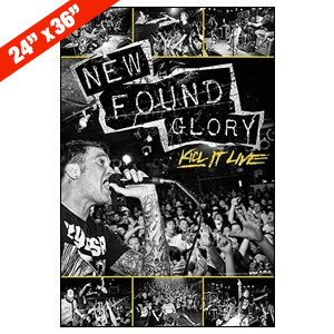 New Found Glory 'Kill It Live' Large Poster