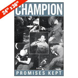 Champion 'Promises Kept' Poster