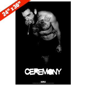 Ceremony 'Live' Poster