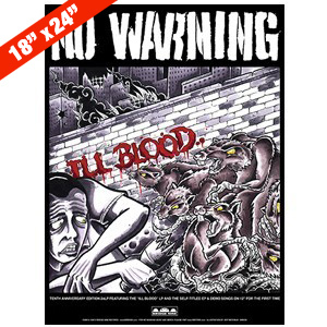 No Warning 'Ill Blood' Poster