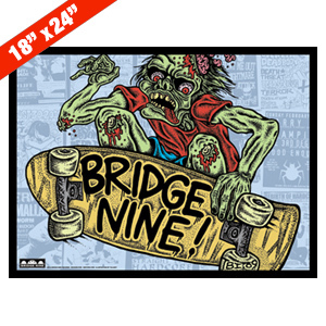 Bridge Nine '2010 Comp' Poster