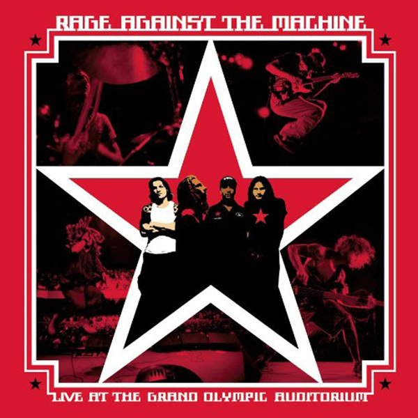 Rage Against The Machine - Live at the Grand Olympic Stadium 2xLP
