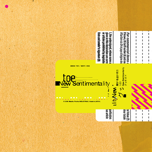 Toe - New Sentimentality 12