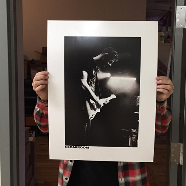 Cloakroom - Live Shot Poster