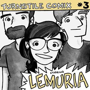 Lemuria 'Turnstile Comix 3' 7inch + Comic