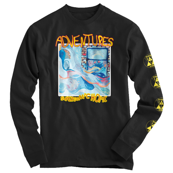 Adventures - Supersonic Home Long Sleeve Shirt