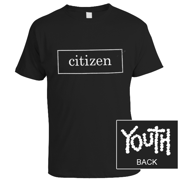 Run For Cover Records Citizen Youth Logo Shirt