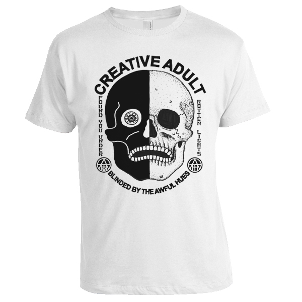 Creative Adult - Skull Shirt