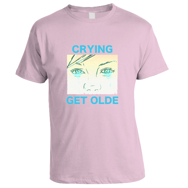 Crying - Get Olde Shirt (Pink)