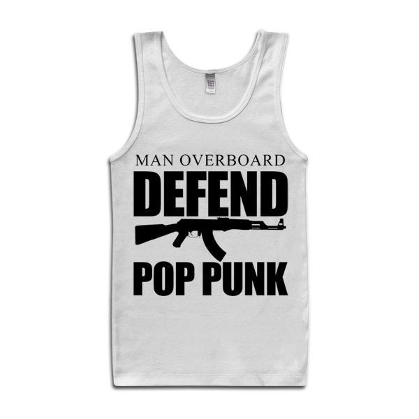 Man Overboard - Defend Pop Punk Tank Top