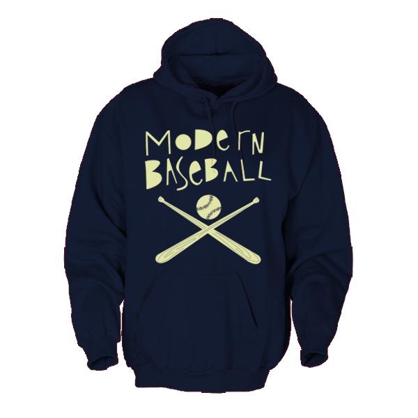 Modern Baseball - Baseball Bat Hoodie Sweatshirt