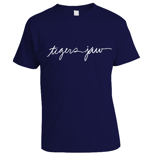 Tigers Jaw - Script Shirt