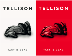 Tellison 'Tact is Dead EP' on Cassette Tape