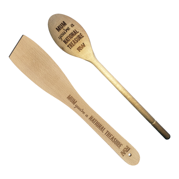 National Treasure Spoon & Spatula Set