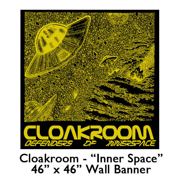 Cloakroom - Defenders of Inner Space Flag