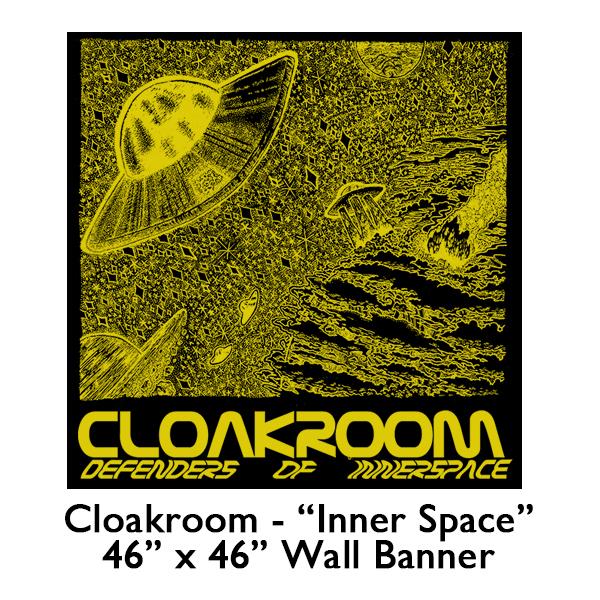 Cloakroom - Defenders of Inner Space Flag