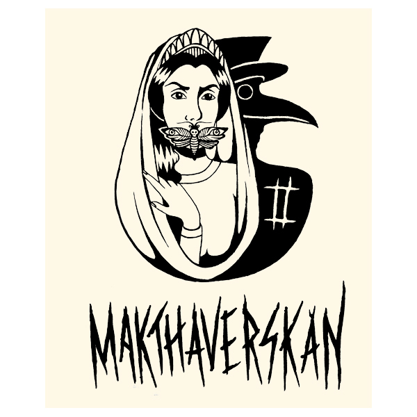 Makthaverskan - II Cloth Backpatch