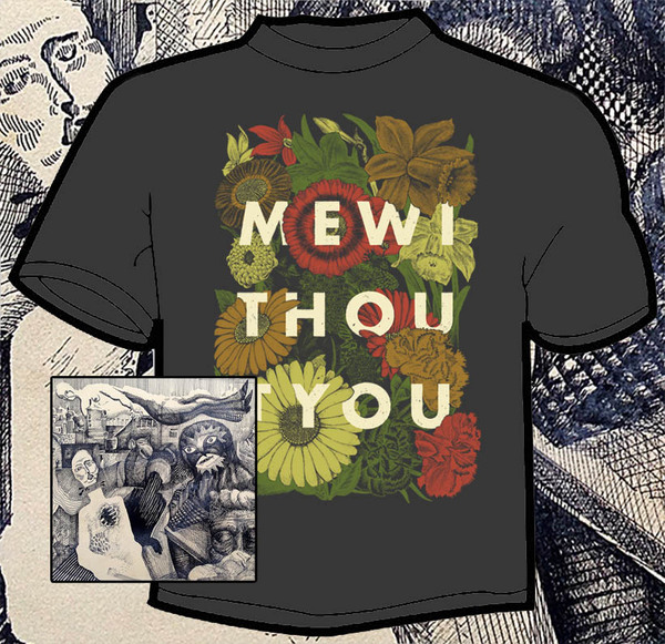 mewithoutYou - Pale Horses LP/CD and T-Shirt Bundle