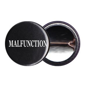 Malfunction 1inch Logo Button