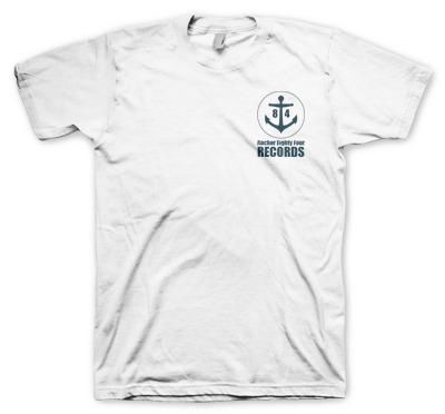 Anchor Eighty Four - Logo Tee (white)