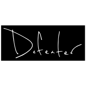 Defeater 'Script Logo' Sticker