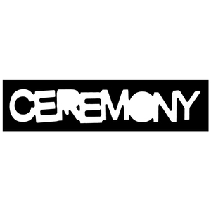 Ceremony 'Logo' Sticker
