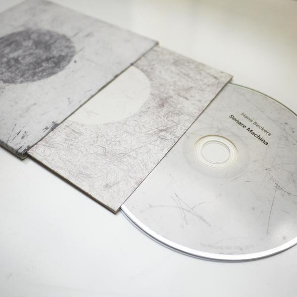 HANS BECKERS - SONARE MACHINA CD