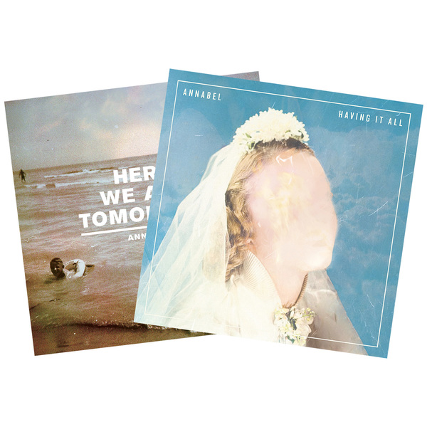 Annabel - Having It All LP + Here We Are Tomorrow 7