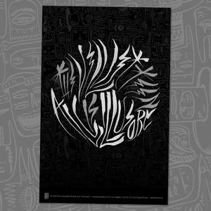 The Velvet Teen - All Is Illusory Poster