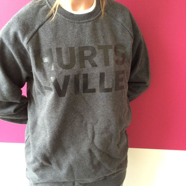 HURTSVILLE SWEATER (asphalt marle) SOLD OUT