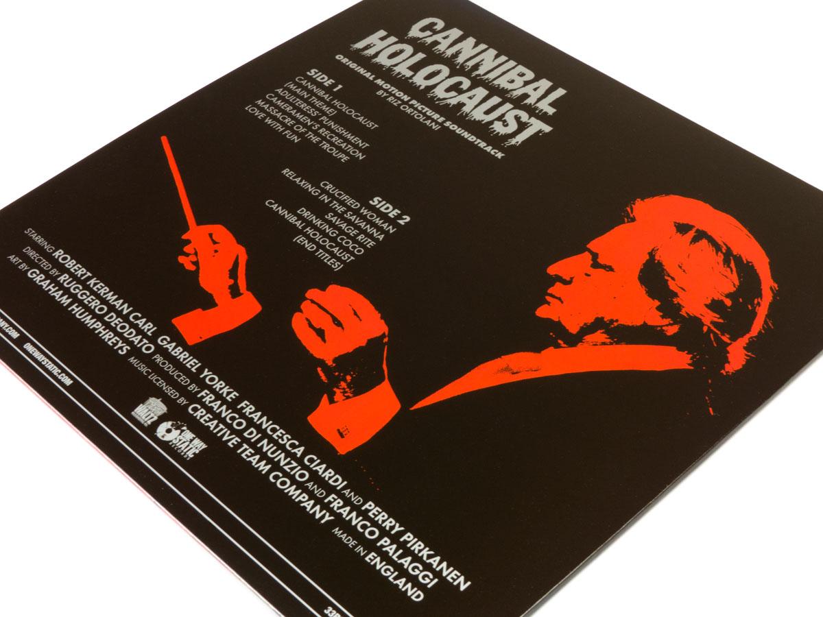 One Way Static Records Cannibal Holocaust Original 1980