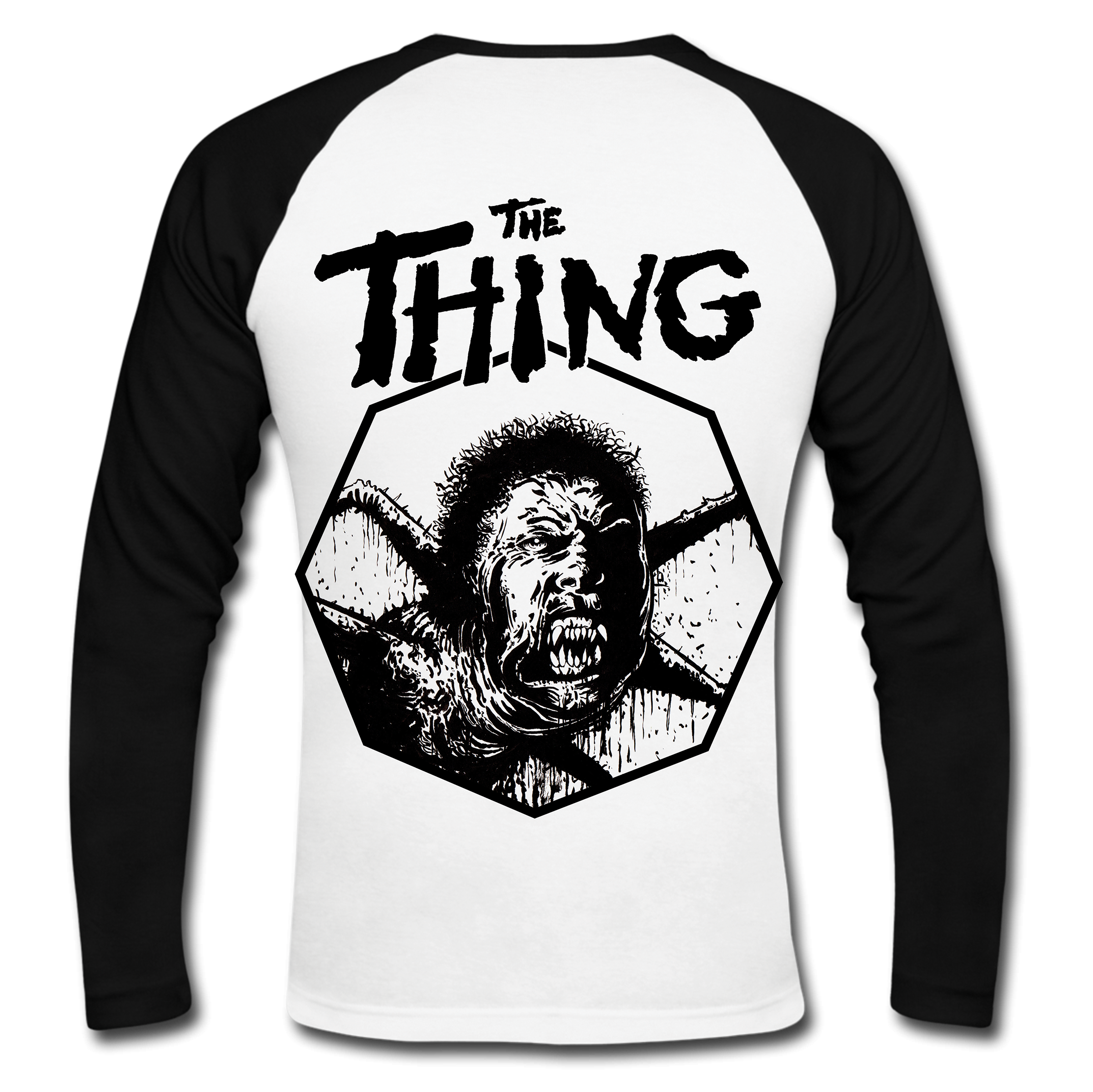 the thing inspired baseball tee exclusive t shirt designs