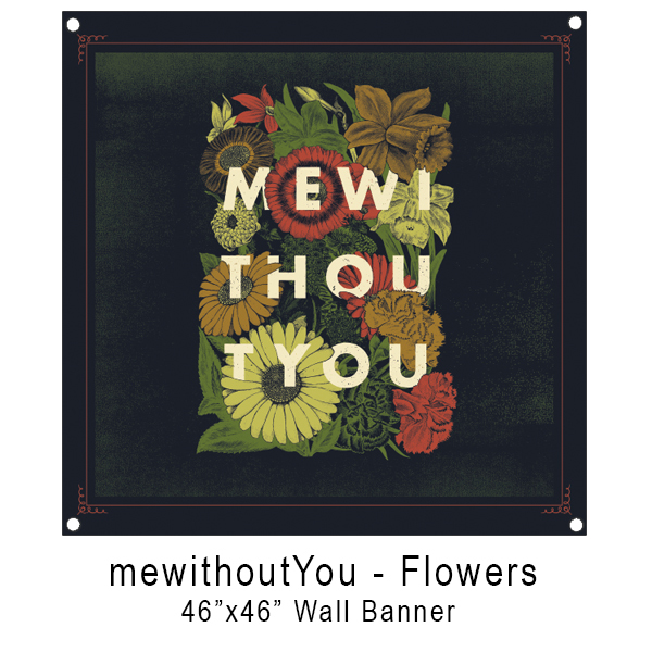 mewithoutYou - Flowers Flag