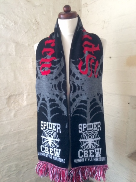 SPIDERCREW - TOO OLD TO DIE YOUNG LIMITED EDITION SCARF