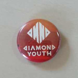Diamond Youth - Orange Button