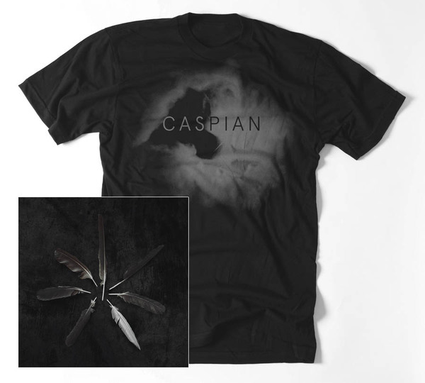 CASPIAN - Dust and Disquiet album and T-Shirt bundle