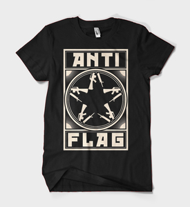 Anti-Flag - Comrade Gunstar t-shirt
