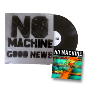 No Machine - Good News & Volume One vinyl bundle
