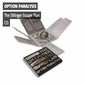 The Dillinger Escape Plan - Option Paralysis CD