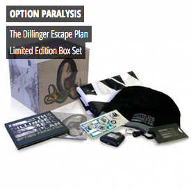 The Dillinger Escape Plan - Option Paralysis Limited Edition Box Set