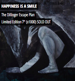 The Dillinger Escape Plan - Happiness Is A Smile 7