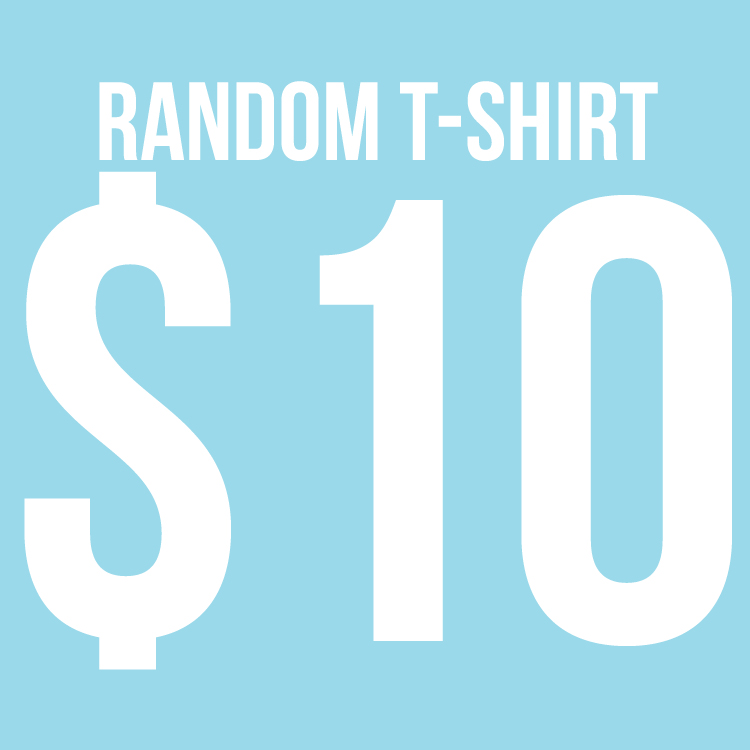 Count your lucky stars records a random shirt just 10 for Random t shirt generator