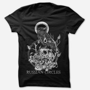 Russian Circles - Raven Skull T-Shirt