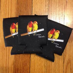 Lauren Records - Love Birds Coozie