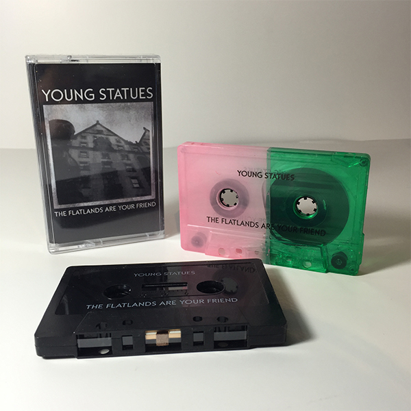 Young Statues - The Flatlands Are Your Friend Cassette Tape