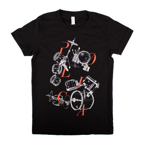 Polica - Drums T-Shirt