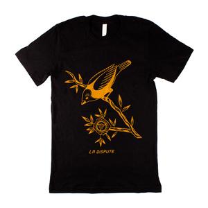 Slow Black Bird - Black T-Shirt