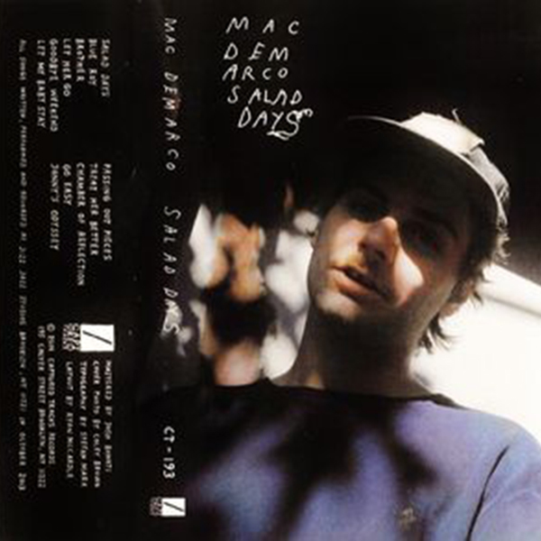 Mac Demarco - Salad Days Cassette Tape